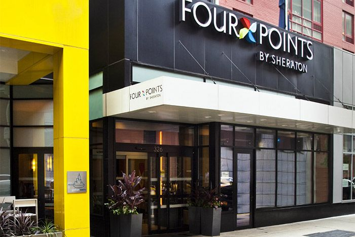 Four Points Sheraton Midtown Times Square main exterior