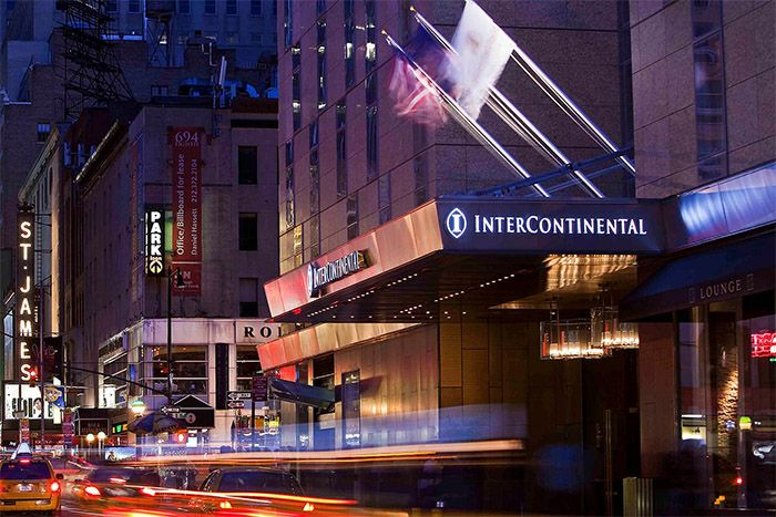 InterContinental New York Times Square main exterior