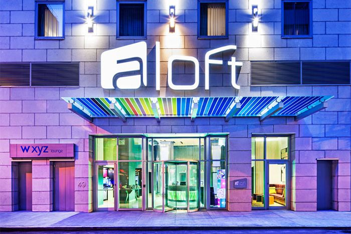 Aloft Manhattan Downtown Financial District main exterior